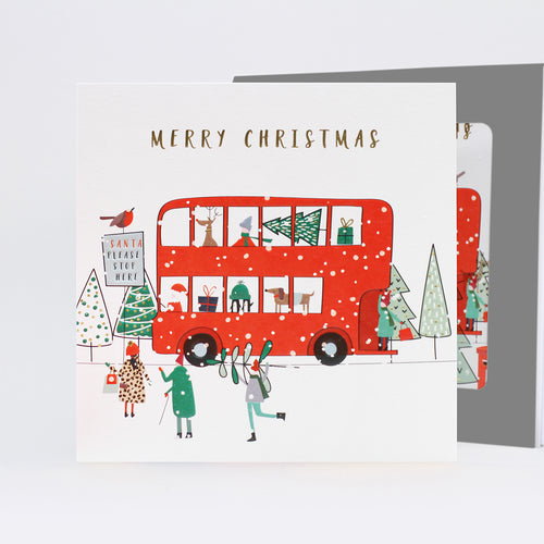 Belly Button Merry Christmas Bus Charity Pack