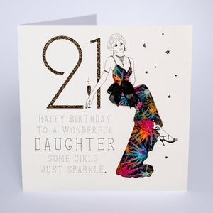21 - Happy Birthday Wonderful Daughter - Five Dollar Shake