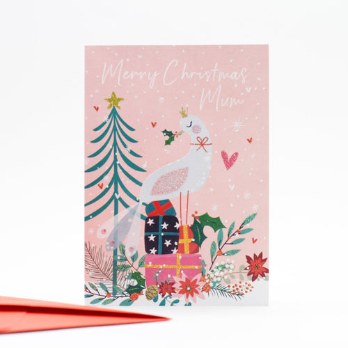 Merry Christmas Mum Card