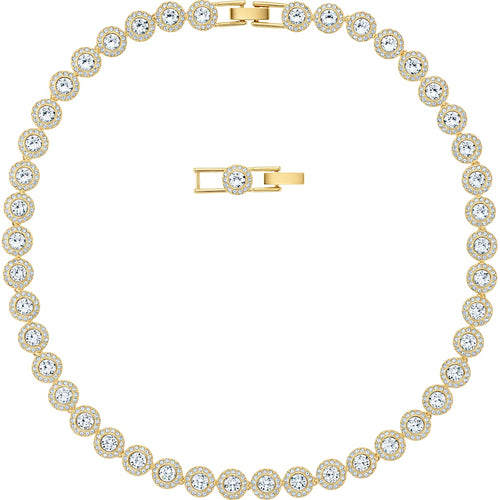 Swarovski Angelic All-Around Necklace Gold-tone Plated
