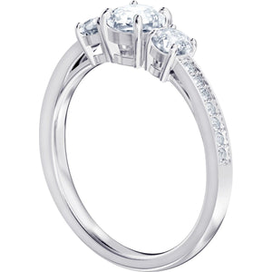 Swarovski Attract Trilogy Ring