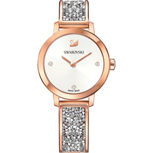 Load image into Gallery viewer, Swarovski Cosmic Rock Watch Rose Gold Grey