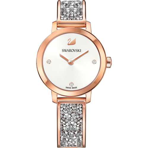Swarovski Cosmic Rock Watch Rose Gold Grey
