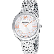 Load image into Gallery viewer, Swarovski Crystalline Glam Watch, Metal bracelet, White, Stainless steel