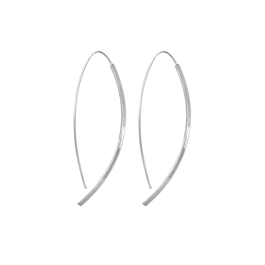 Dansk Smykkekunst Alaya Simple Earrings Silver