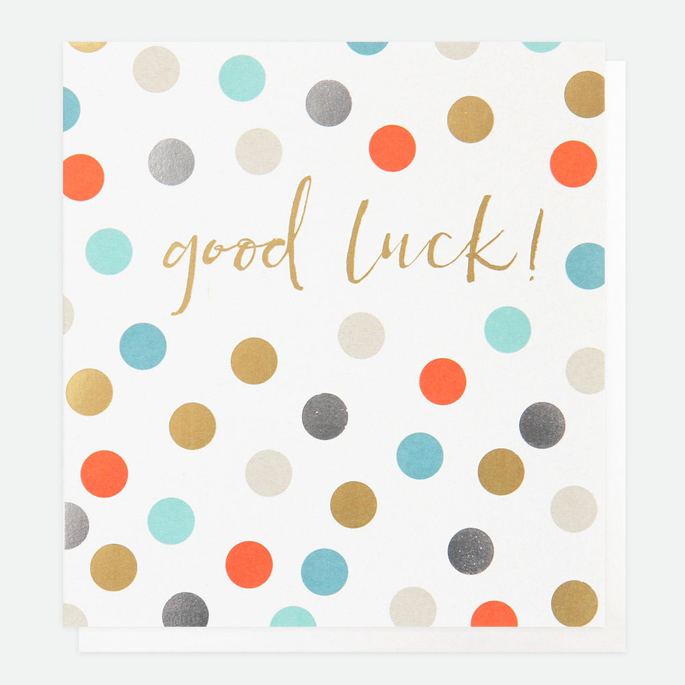 Good Luck Card - Caroline Gardner
