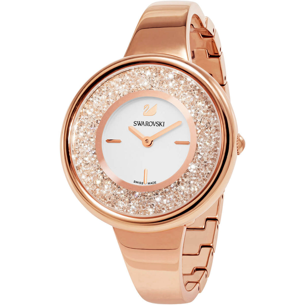Swarovski Crystalline Pure Watch Rose Gold