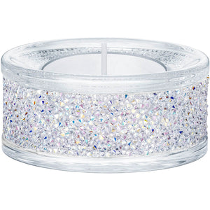 Swarovski Shimmer Tealight Holder Clear AB