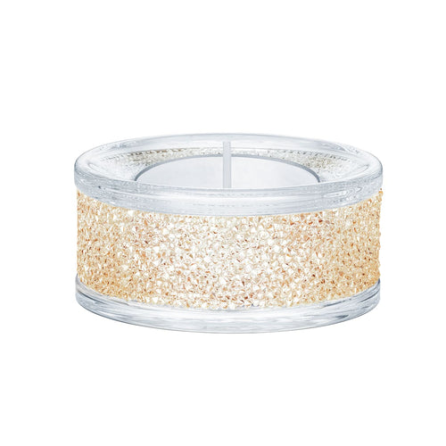 Swarovski Shimmer Tea Light Gold
