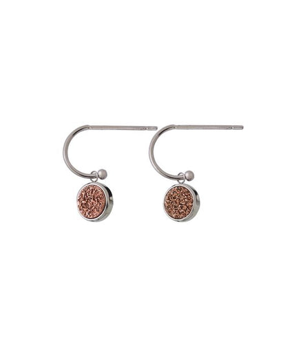 Edblad Estelle Earrings Rose Steel