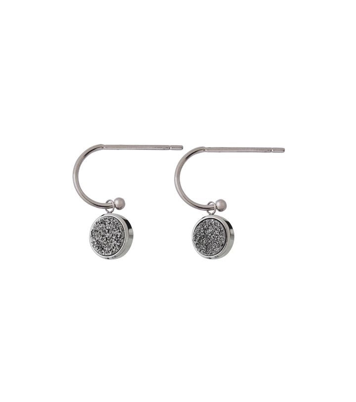 Edblad Estelle Earrings Silvery Steel