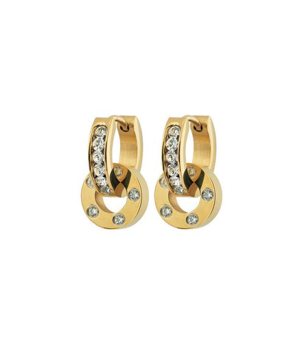 Edblad Ida Orbit Earrings Steel Gold
