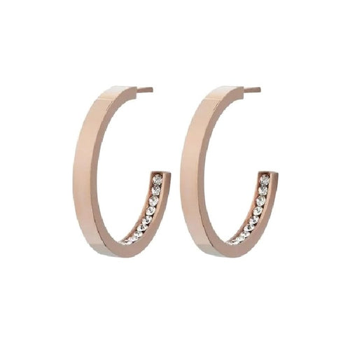 Edblad Monaco Small Earrings Rose Gold
