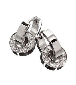 Edblad Eternity Orbit Earrings Steel