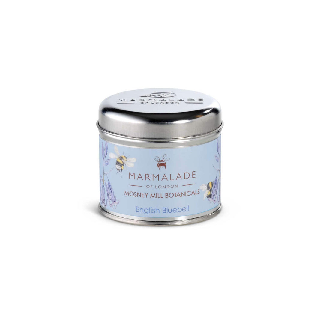 Marmalade Of London Mosney Mill English Bluebell Medium Tin Candle