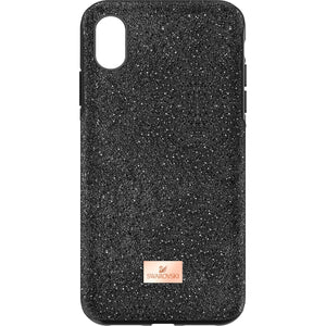 Swarovski High iPhone X MAX Case Black
