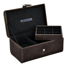 Load image into Gallery viewer, Jacob Jones Watch And Cufflink Box Grey