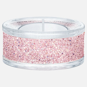 Swarovski Shimmer Tealight Holder, Pink