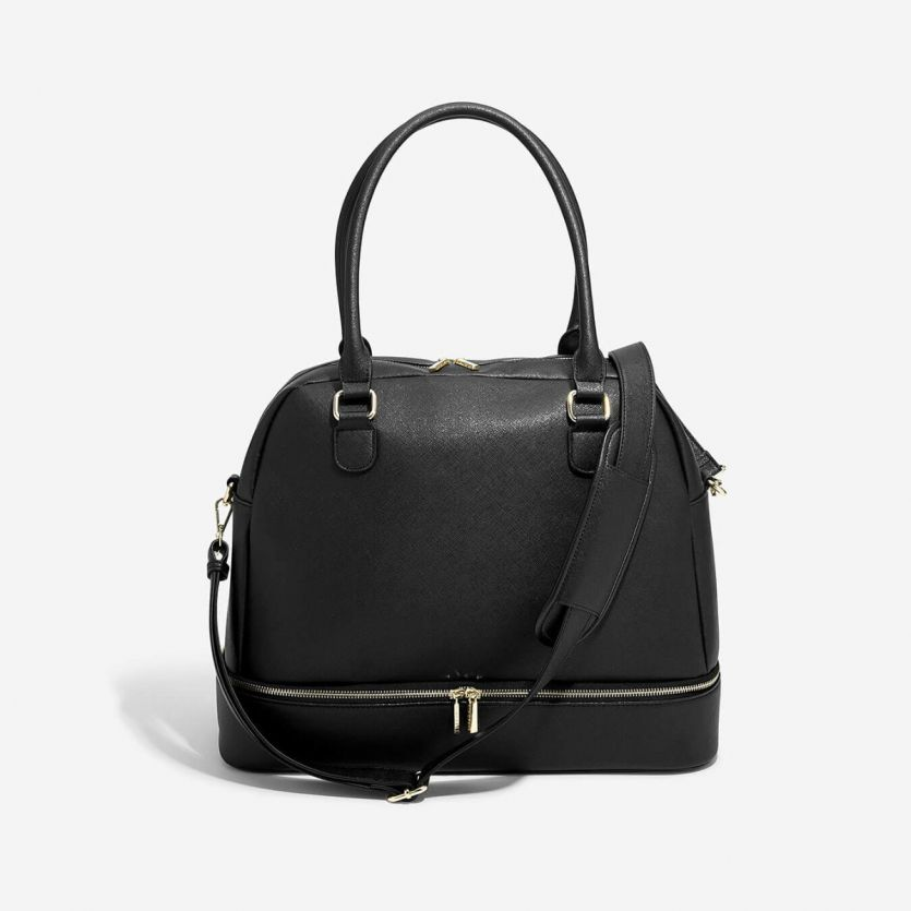 Stackers Black Large Handbag