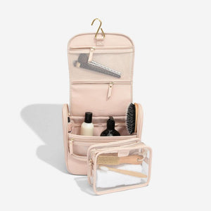 Stackers Blush Hanging Wash Bag