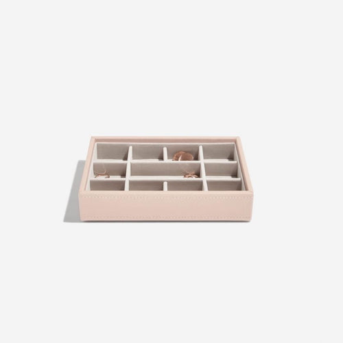 Mini Stackers Blush 11 Section Jewellery Tray