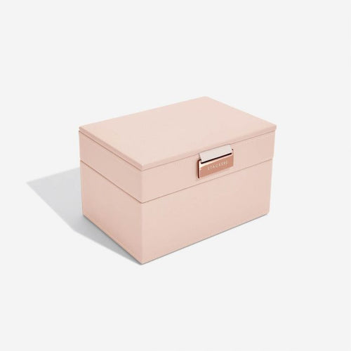 Stackers Blush Mini Jewellery Box - Free Delivery