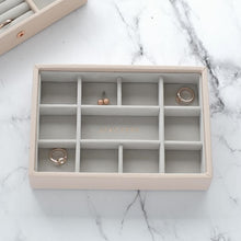 Load image into Gallery viewer, Mini Stackers Blush 11 Section Jewellery Tray