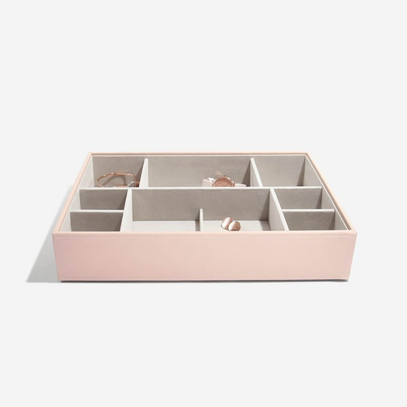 Super Size Blush Deep Open Watch Compartment Tray