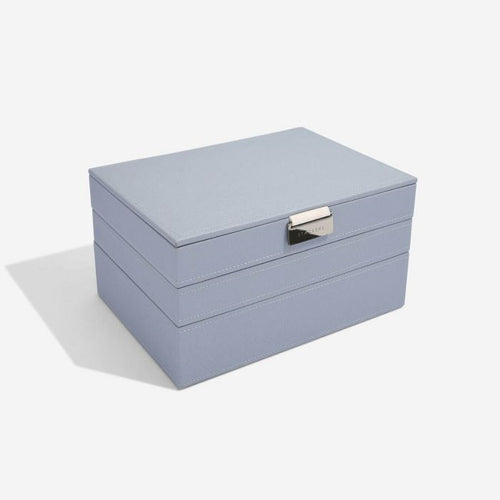 Stackers Dusky Blue Classic Jewellery Box