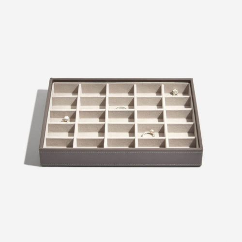 Stackers Mink 25 Section Compartment Tray