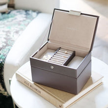 Load image into Gallery viewer, Stackers Mink Mini Jewellery Box - Free Delivery