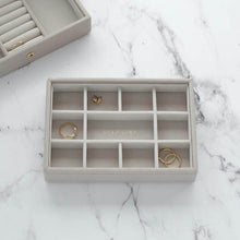 Load image into Gallery viewer, Mini Stackers Taupe 11 Section Jewellery Tray