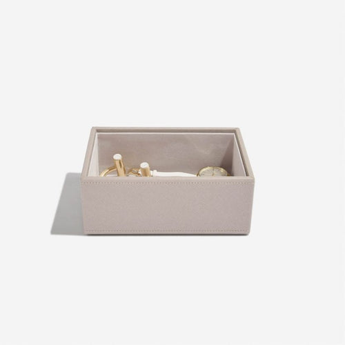 Mini Stackers Taupe Deep Open Section Tray