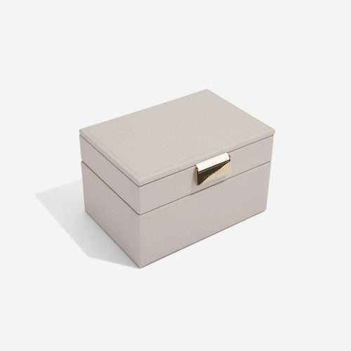 Stackers Taupe Mini Jewellery Box - Free Delivery