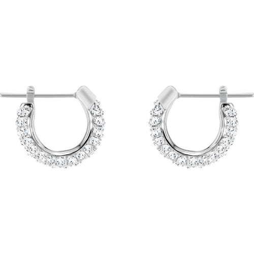 Swarovski Stone Earrings Silver