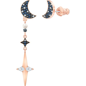 Swarovski Symbolic Pierced Earring Jackets, Multi-coloured