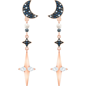 Swarovski Symbolic Pierced Earring Jackets, Multi-coloured,