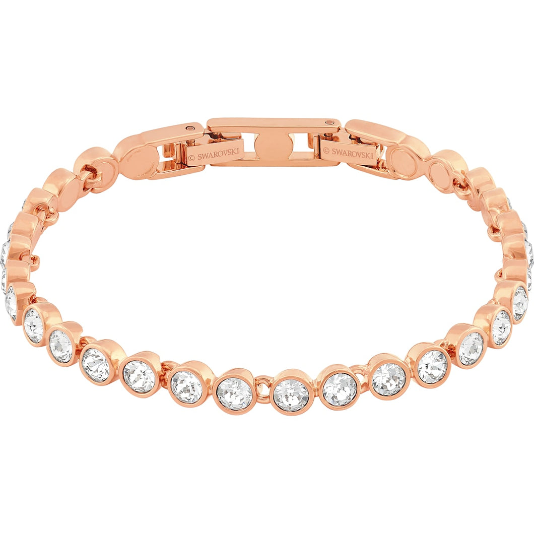 Swarovski Tennis Bracelet Rose Gold