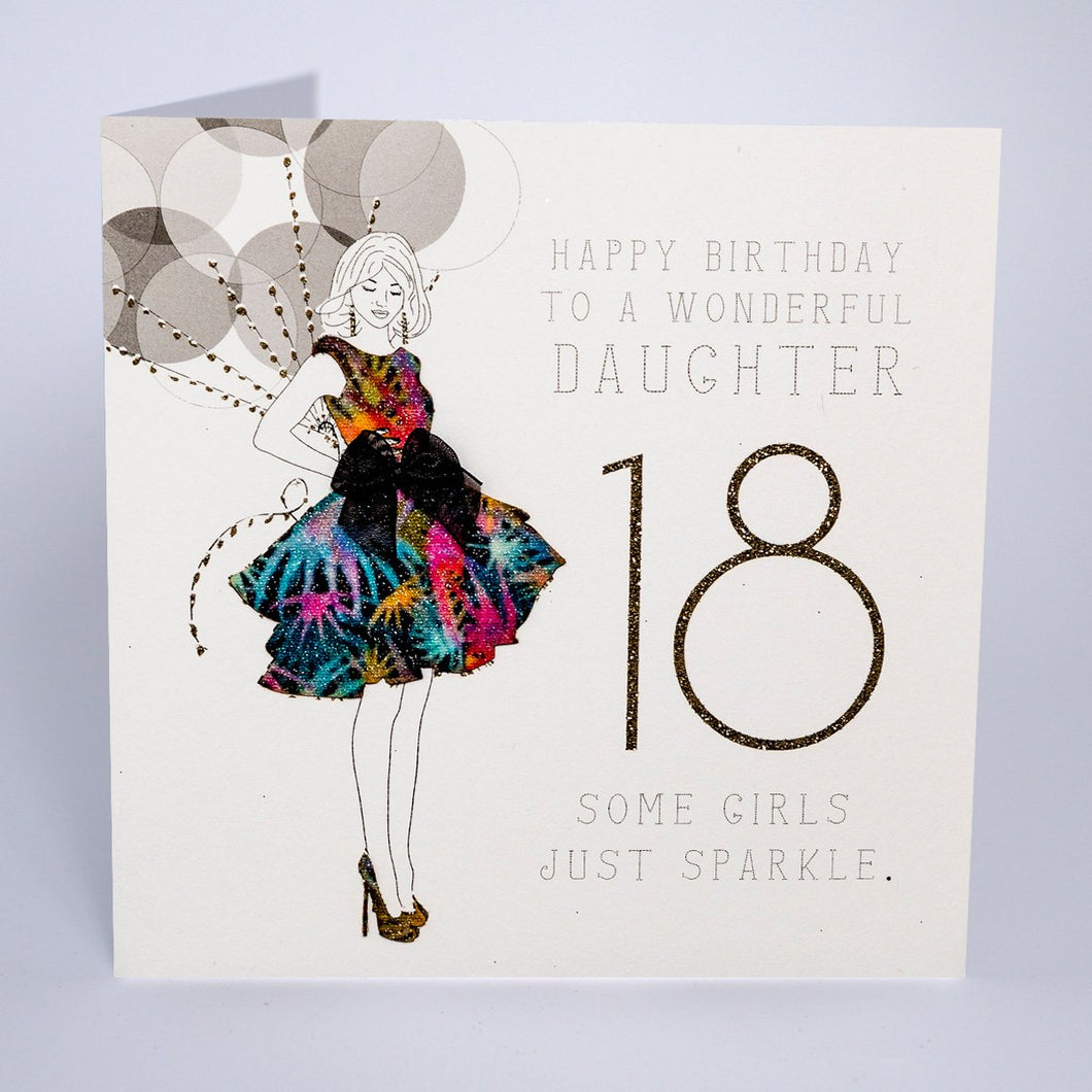 To a Wonderful Daughter - 18 - Some Girls Just Sparkle - Five Dollar Shake