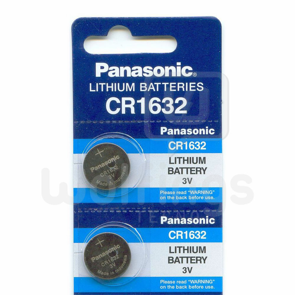 PILA CR 1632 3V LITIO PANASONIC x5 [Cod. PYB-074]