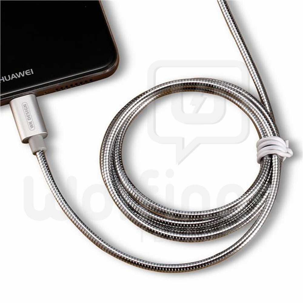 Cable USB tipo C Mallado Metalizado Flexible 1 Metro [Cod. CAB-108]