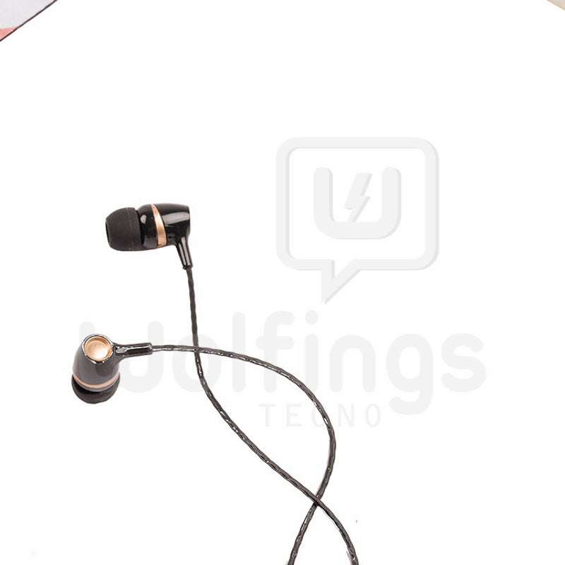 Auricular in Ear Manos Libres Stereo Earphones MC-290 [Cod. AUR-066]
