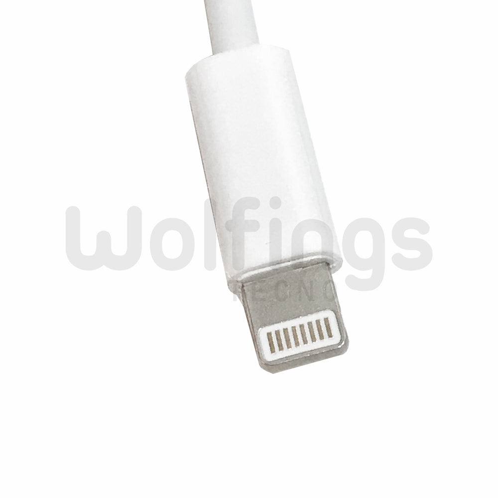 CABLE ADAPTADOR LIGHTNING MACHO A JACK PLUG 3,5MM AURICULAR IPHONE IPAD AURICULARES [Cod. CON-052]