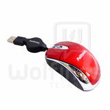 Mouse Mini Retractil Optico USB Fulltotal MO-2032 [Cod. MOU-020]