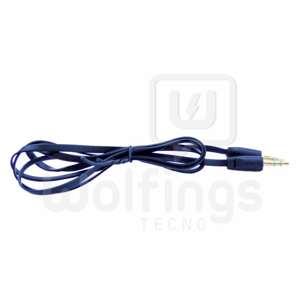 Cable Extension Mini Plug 3.5 mm. 1 metro. Varios Colores [Cod. CAB-015]