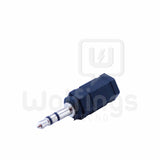 Ficha Adaptador Mini Plug 3.5mm Macho a Hembra. [Cod. CON-012]