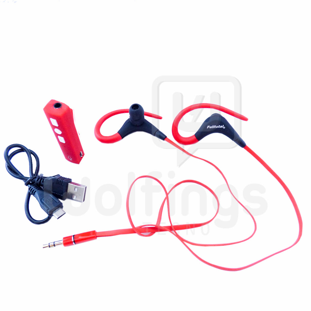 Auriculares in Ear Bluetooth con Orejero Ideal Deportes Running Sport FT-7001 [Cod. AUR-047]