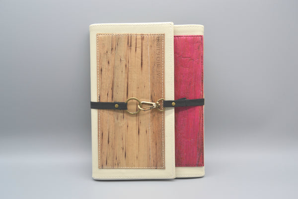Artisan II Dual-Cover Journal (Cream/Red)