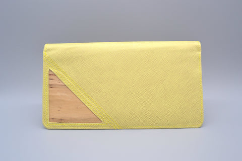 Bucket List Travel Wallet (Yellow)