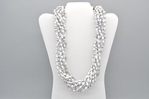 Clarence Necklace (White)